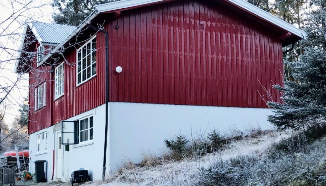 KLASSISK: Klubbhuset til idrettslaget Skimt er midtpunktet i et mylder av turveier. Perfekt for gåturer i variert terreng. Før skituren kan planlegges, må det komme litt mer snø. Skimt håper å kunne åpne servering senere i vinter, i den klassiske skistua. 14 km fra Sofiemyr stadion.