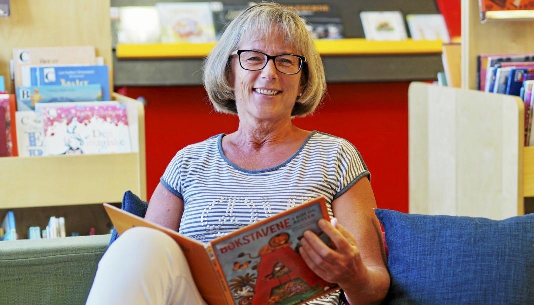 SPESIELT ÅR: Biblioteksjef Aase-Liv Birkenes kan se tilbake på et unntaksår i 2020. Pandemien skapt omveltninger også for bibliotekene i kommunen vår.