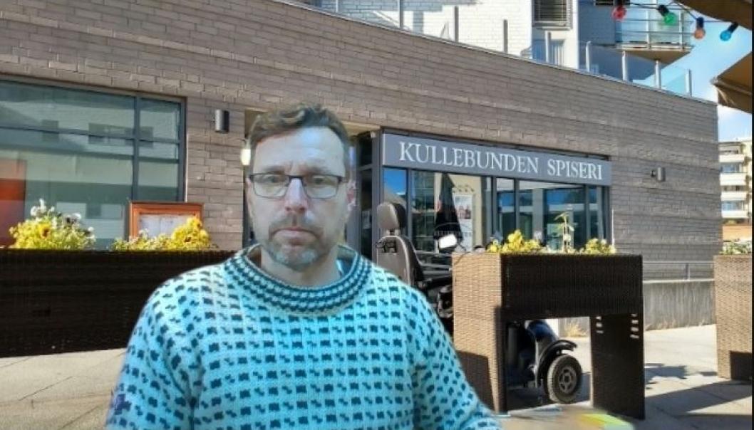 KJEMPER FOR KULLEBUNDEN SPISERI: Innlegget er signert av leser Jarle Halvorsen, som du ser avbildet her. Foto: Privat