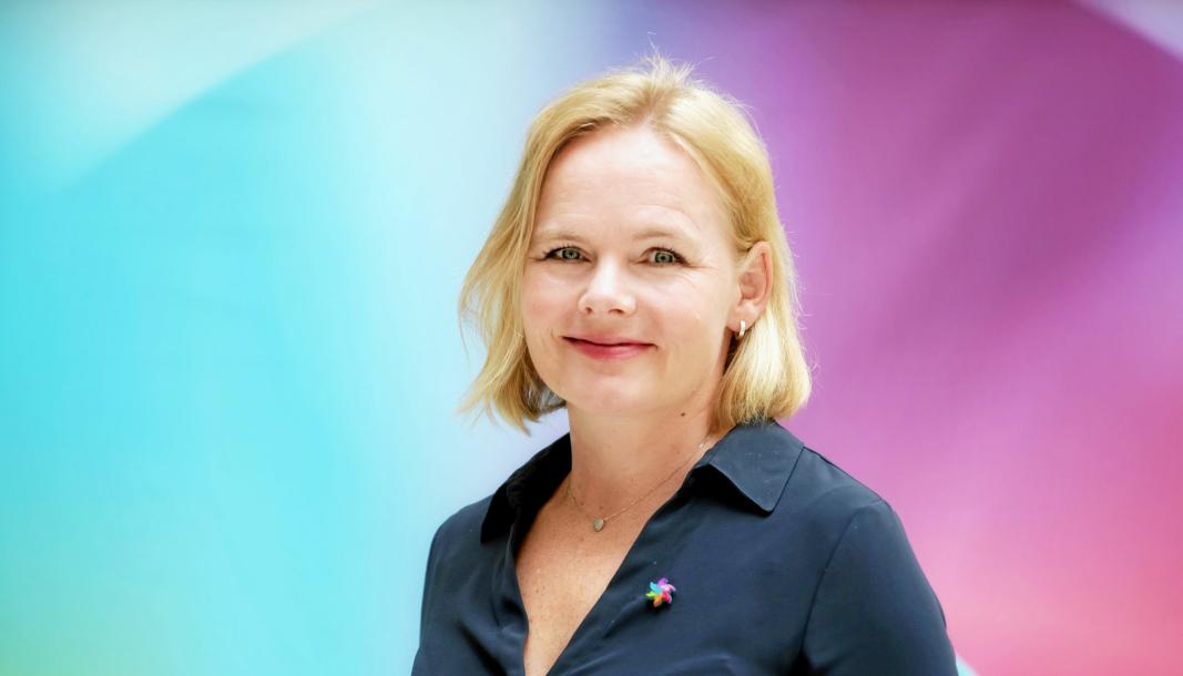 DISTRIKTSSJEF: Christine Lager Nesje er distriktssjef for Kreftforeningen i Oslo. Hun er bosatt på Ormerud på Kolbotn.