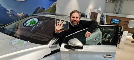 Ole Henrik ble årets Skoda-selger