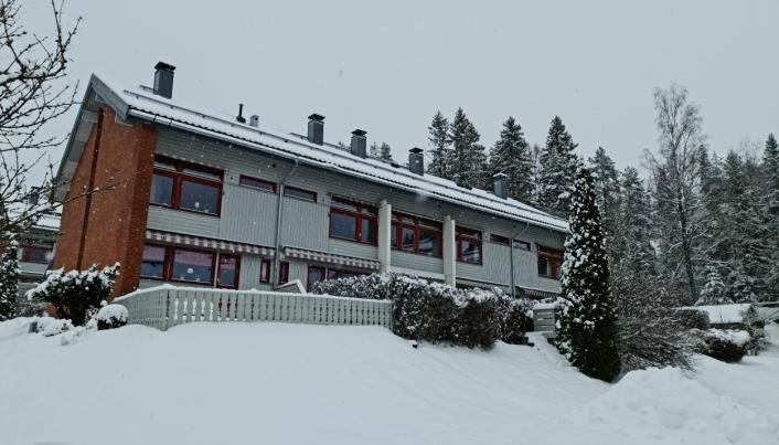 OVER TAKST: Rekkehuset i Kongeveien 13b på Ødegården gikk nesten en million over prisantydningen.