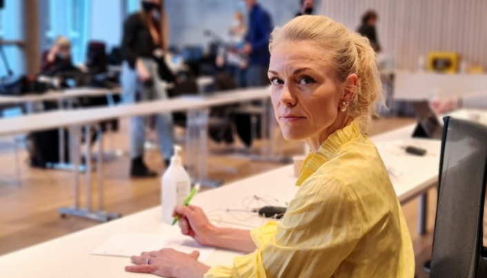 KOMMUNEOVERLEGEN: Kerstin Anine Johnsen Myhrvold.