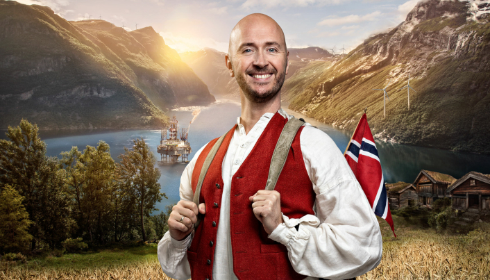 "ABSOLUTE NORSK: I september har Terje Sporsem premiere på sitt nye show ""Absolute norsk""."