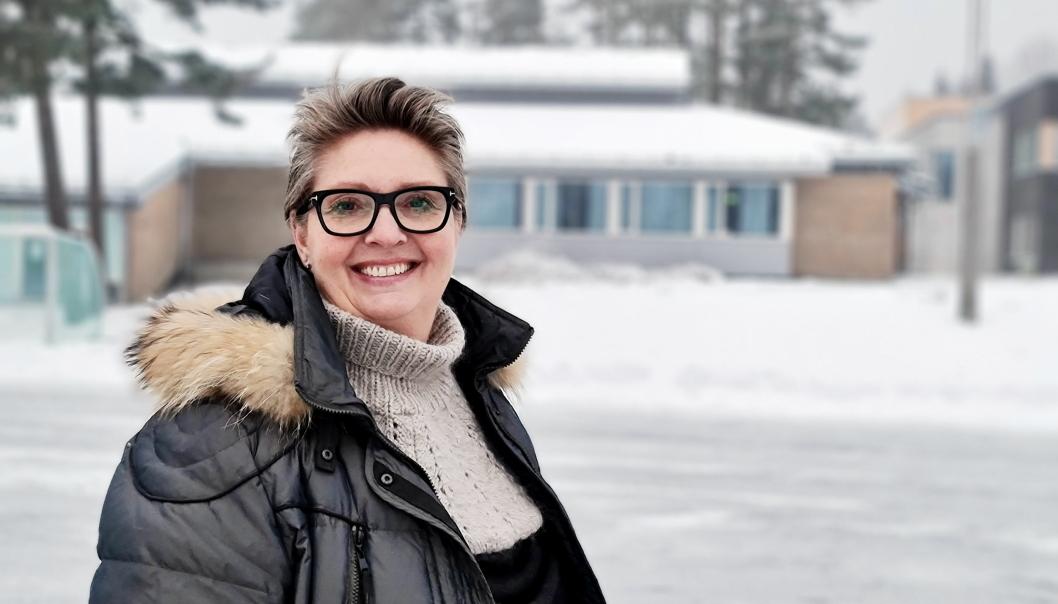 I FØRERSETET: Ordfører Hanne Opdan har sendt ut invitasjon til lokal feiring av kvinnedagen 8. mars.