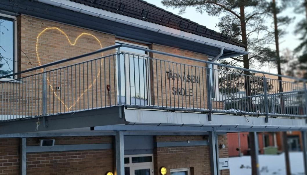 NY SMITTE: Onsdag ettermiddag kom meldingen om at det er konstatert et nytt smittetilfelle tilknyttet Tårnåsen skole.