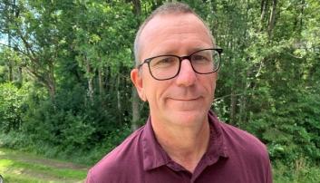 SLUTTER: Jo Wangen startet formelt i stillingen som rektor 1. august i fjor. Nå slutter han.