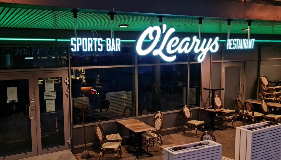 STENGT: O'Learys åpnet aldri igjen etter at den hadde sist åpningsdag 2. juledag i fjor. Sist torsdag ble eierselskapet slått konkurs.