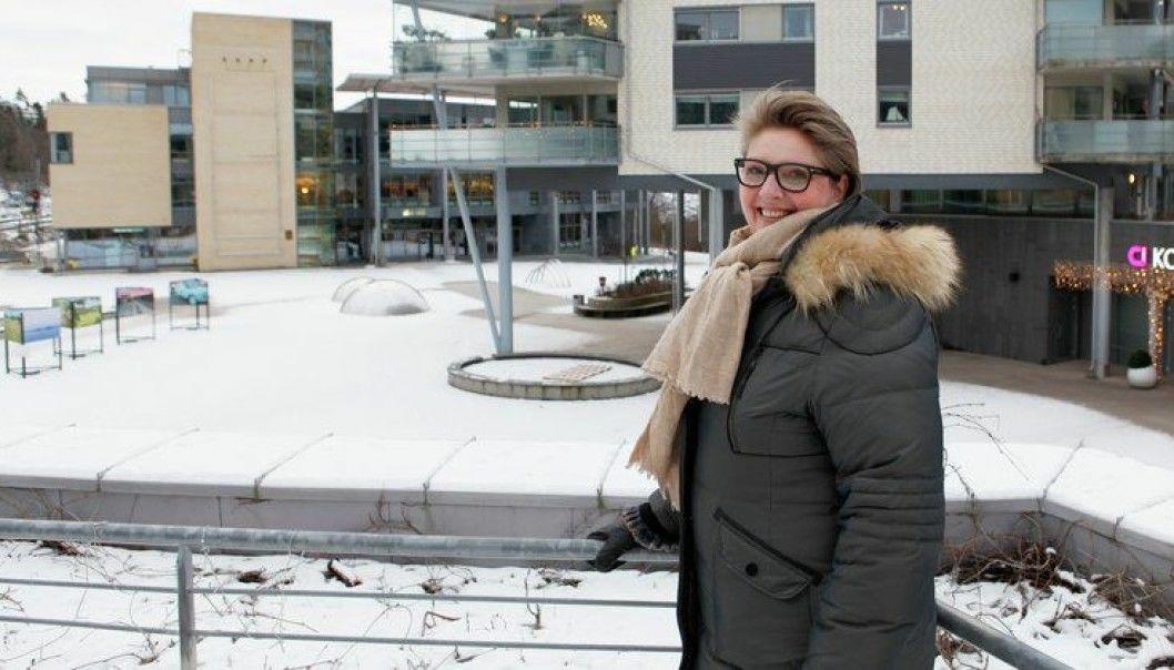 INVITERTE TIL WEBINAR: Ordfører Hanne Opdan inviterte alle sammen til å bidra med ideer. Foto: Nordre Follo kommune
