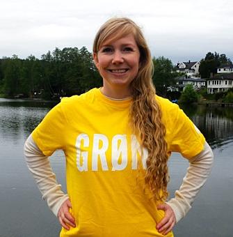 SIER RUNGENDE JA: Marthe Arnesen (MDG). Foto: Privat