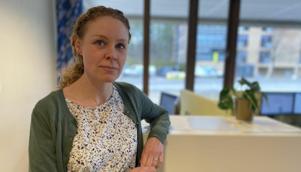 HÅPER PÅ STØRRE VAKSINELEVERANSER: – I april og mai er det håp om større tilgang på vaksiner, ettersom også Johnson & Johnson nå er godkjent i Norge, sier Monica Viksaas Biermann, programleder for vaksinering og konstituert kommuneoverlege i Nordre Follo. Foto: Nordre Follo kommune