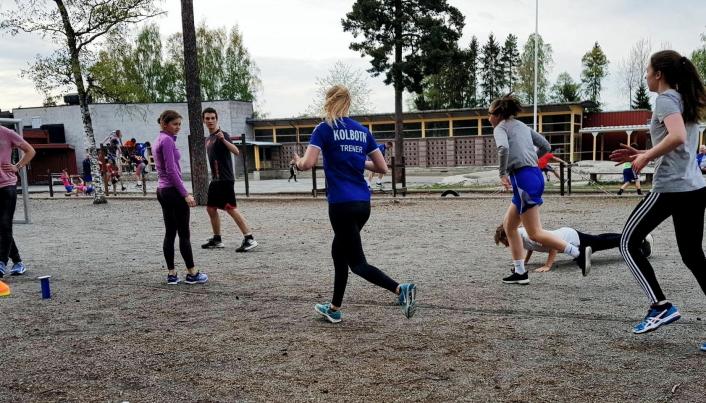 AKTIV TRENING: Young Active har tidligere vært et populært tiltak. Nå starter nye treninger i regi av Kolbotn idrettslag.