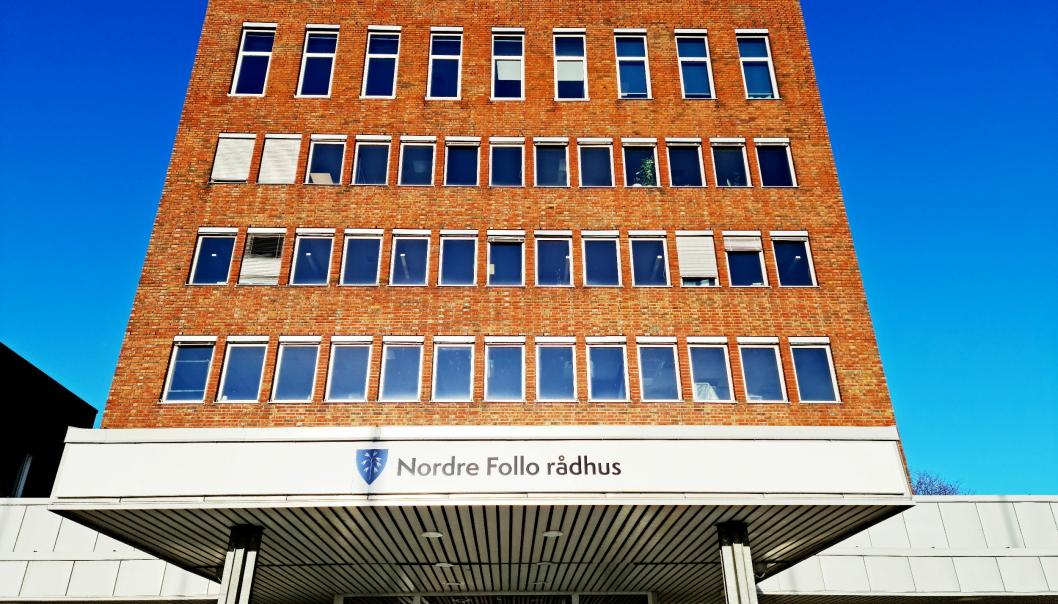 TO MØTER I UTVALGENE: På bildet kan du se Nordre Follo rådhus. Foto: Sigbjørn Vedeld