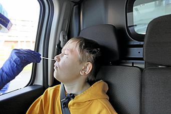 Barn under 12 år skal også testes ved innreise til Norge