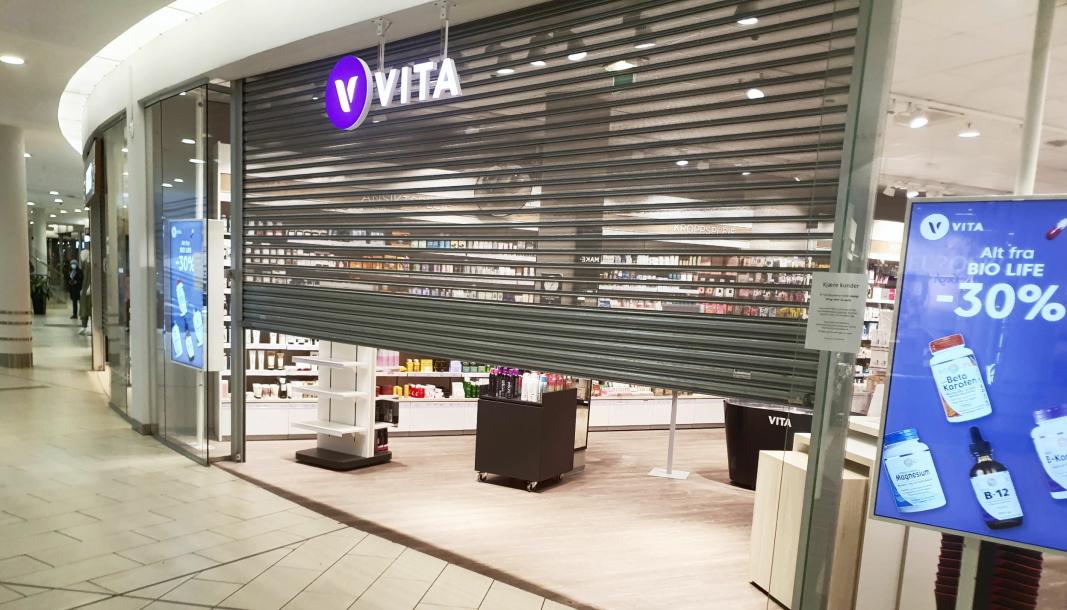 GJENÅPNER: Mange butikkansatte kan glede seg til å gå på jobb igjen og åpne butikken kommende uke.