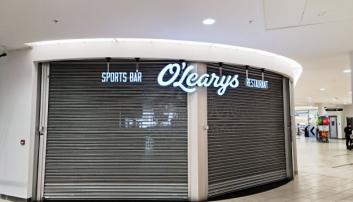 GITTERET GÅR OPP: Går alt etter planen til de nye eierne, vil O'Learys gjenåpne til fotball-EM i sommer.