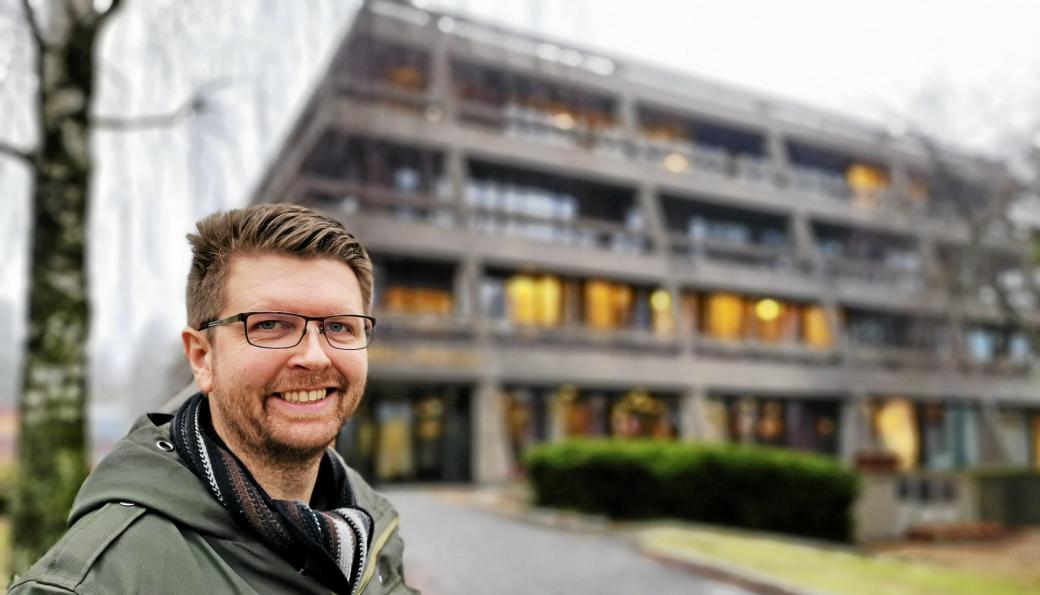 LOKALPOLITIKER: Hans Martin Enger er varaordfører og gruppeleder for MDG i Nordre Follo.