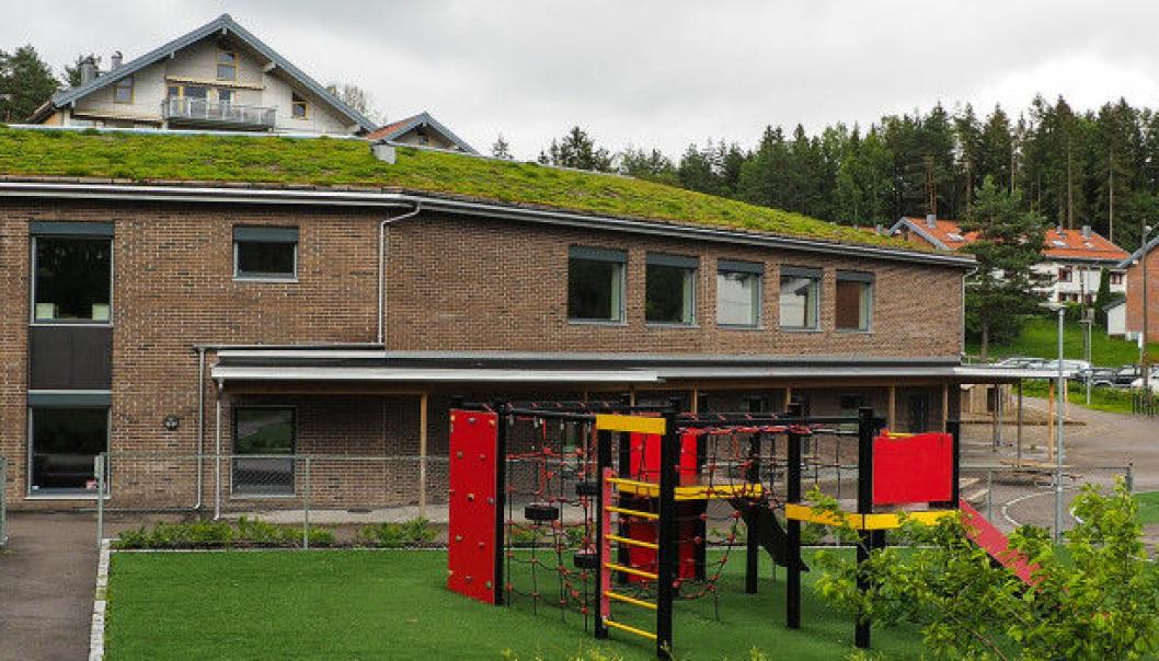 27 I KARANTENE: Ødegården barnehage på Sofiemyr er en av flere kommunale virksomheter som er rammet av koronasmitte.
