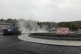 Sjekk den nye rundkjøringen på Mastemyr!