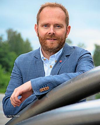 GRUPPELEDER: Oddbjørn Lager Nesje er bosatt på Nedre Ormerud på Kolbotn sammen med sin kone og to barn. Han er gruppeleder for Nordre Follo Arbeiderparti.
