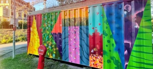 Satser på gatekunst i Nordre Follo