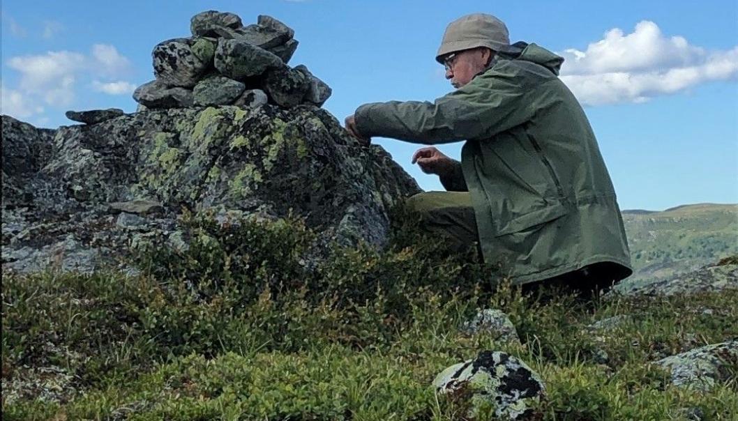 GUIDET TUR: Bli med på Svartskogrunden med Bjørn Gunnar Ganger søndag 20. juni. Foto: Privat
