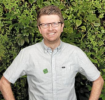 VARAORDFØRER: Hans Martin Enger er lokalpolitiker for Miljøpartiet de grønne.
