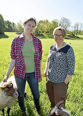 Lokale boeren: Lokale boeren Christine Hammer-Ocrust en Hilda Hammer komen naar de Hogere Academie.