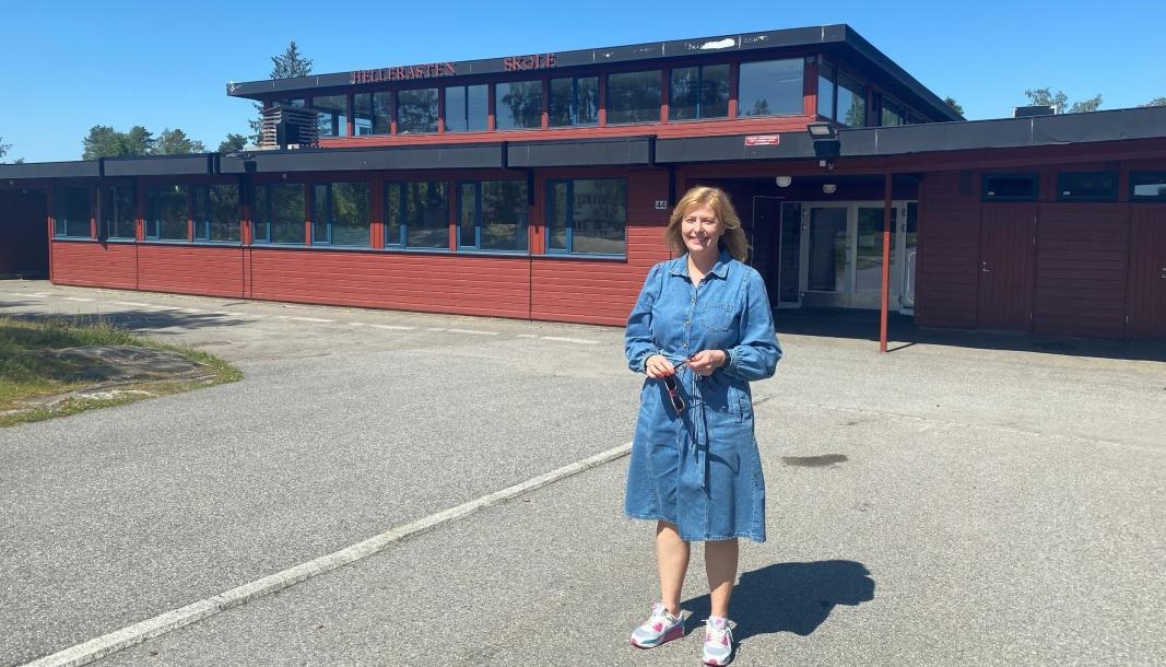 NY REKTOR: Silja Germeten tar over som rektor på Fløysbonn skole etter sommerferien.