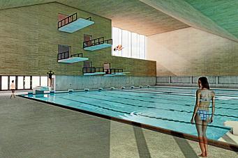 Svømmehallplanene i gamle Oppegård satt på vent i minst 20 år