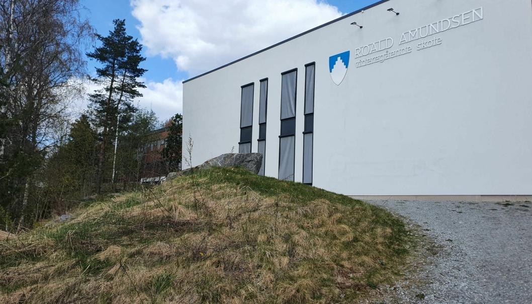 FORELØPIG FÆRRE ENN TI: Foreløpig er det færre enn ti personer som er tilknyttet smitteutbruddet ved Roald Amundsen skole, men kommunen innrømmer at de ikke har full oversikt ennå. Foto: Yana Stubberudlien