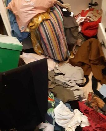 DÅRLIG TID: Tyven eller tyvene hadde hastverk og rommene de var i så slik ut etterpå.