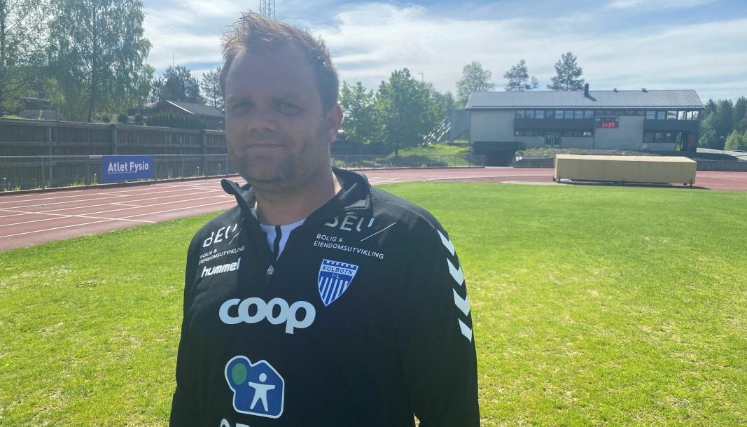 TROR PÅ SEIER: KIL-trener Aleksander Olsen er optimist før lørdagens kamp.