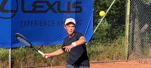 Klar for tennis-EM