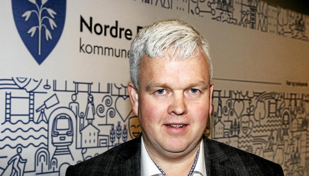 FRA FRP: Tønnes Steenersen er gruppeleder for FrP i Nordre Follo kommune