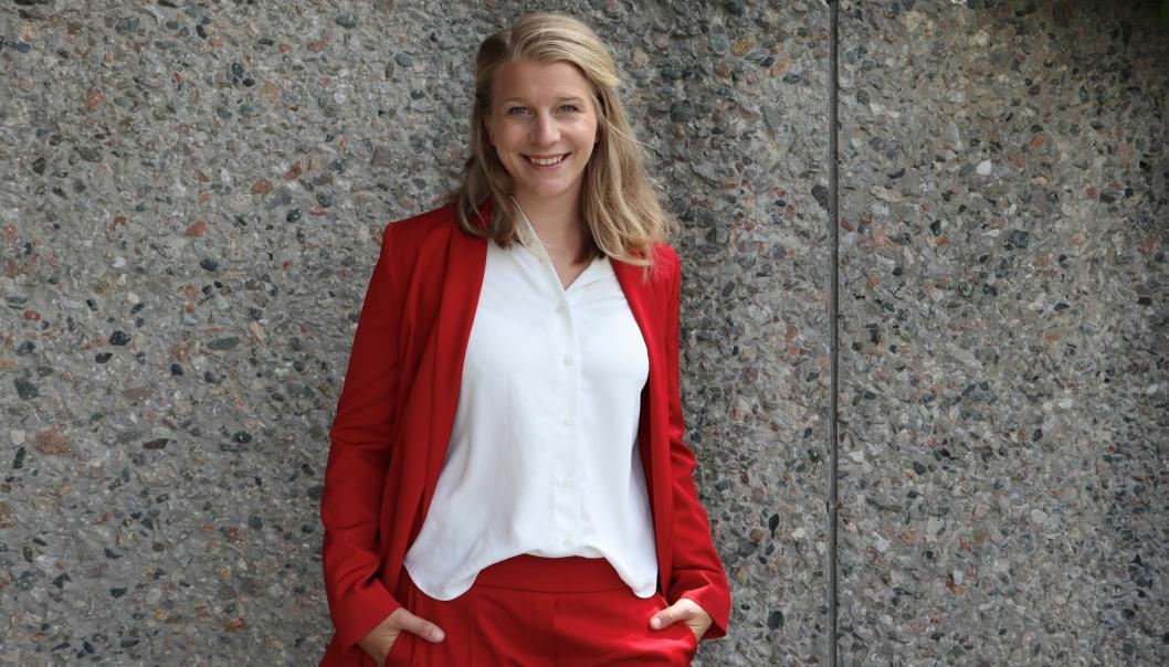 VAR I NORDMARKA: KrF-politiker Ida Lindtveit Røse var på vei hjem fra hyttetur da bomben i regjeringskvartalet gikk av.