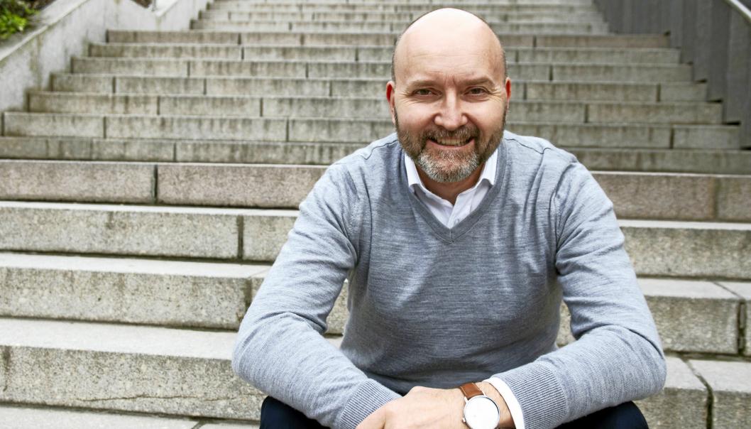 I SENTRUM: Dag A. Fedøy ble valgt inn i kommunestyret for KrF, men er nå uavhengig representant.