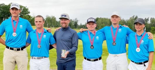 Golf-juniorene herjer