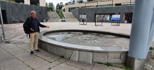 Sjokkert av forfallet på Jan Baalsruds plass