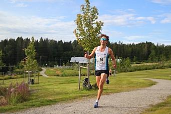 Vant Follotrimmens første løp med fellesstart