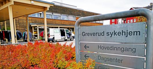 Smitteutbrudd på Greverud sykehjem