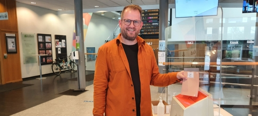 Her stemmer John Harald Bondevik på sitt nye parti