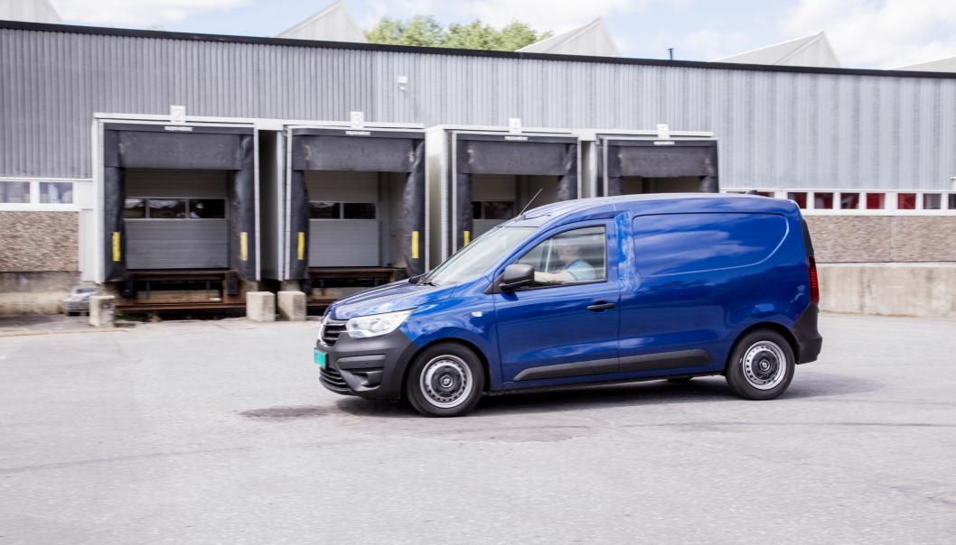 NYHET: Renault Express er en helt ny varebil som imponerer.