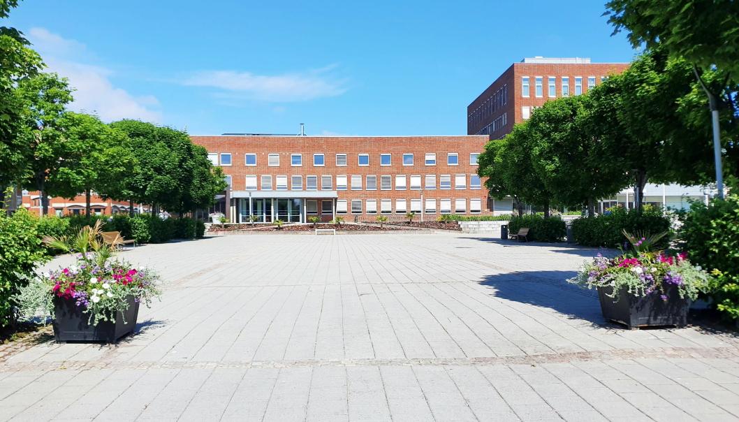 RÅDHUSET: I dette bygget i Ski sentrum sitter kommuneadministrasjonen.