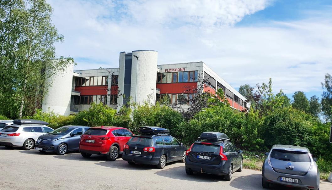 ELLEVE SMITTEDE: Det er meldt om totalt elleve tilfeller tilknyttet 8., 9. og 10. trinn ved Fløysbonn skole. Foto: Yana Stubberudlien