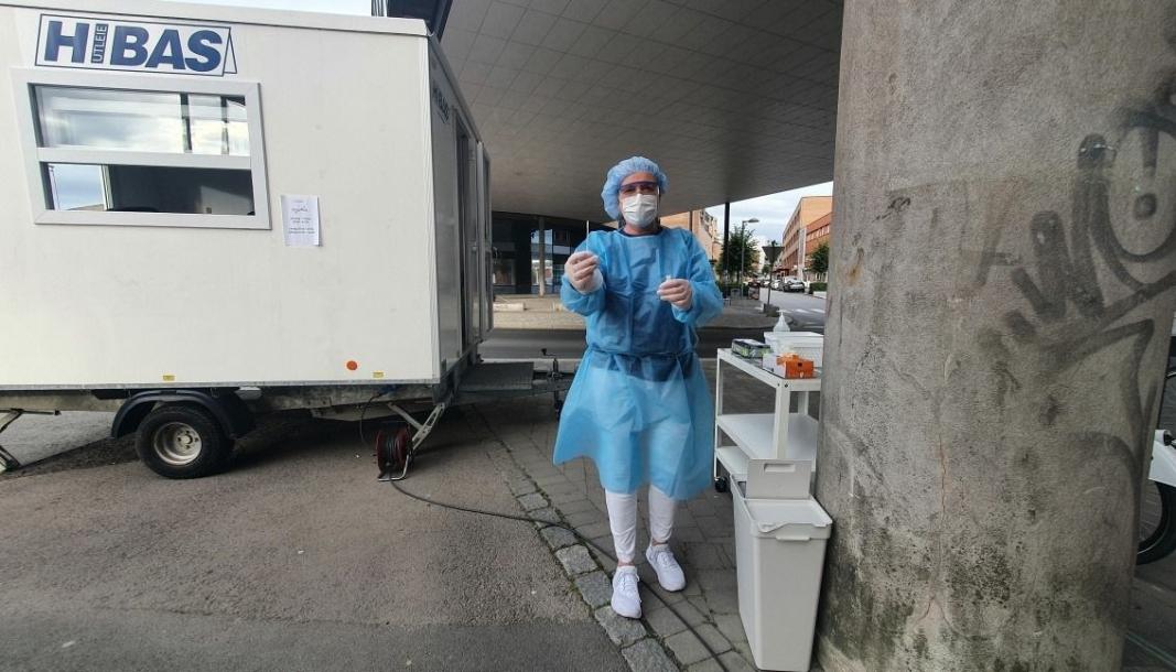 GRATIS TILBUD: På bildet ser du daglig leder av Onetest, Kari Enger. Alle foto: Yana Stubberudlien