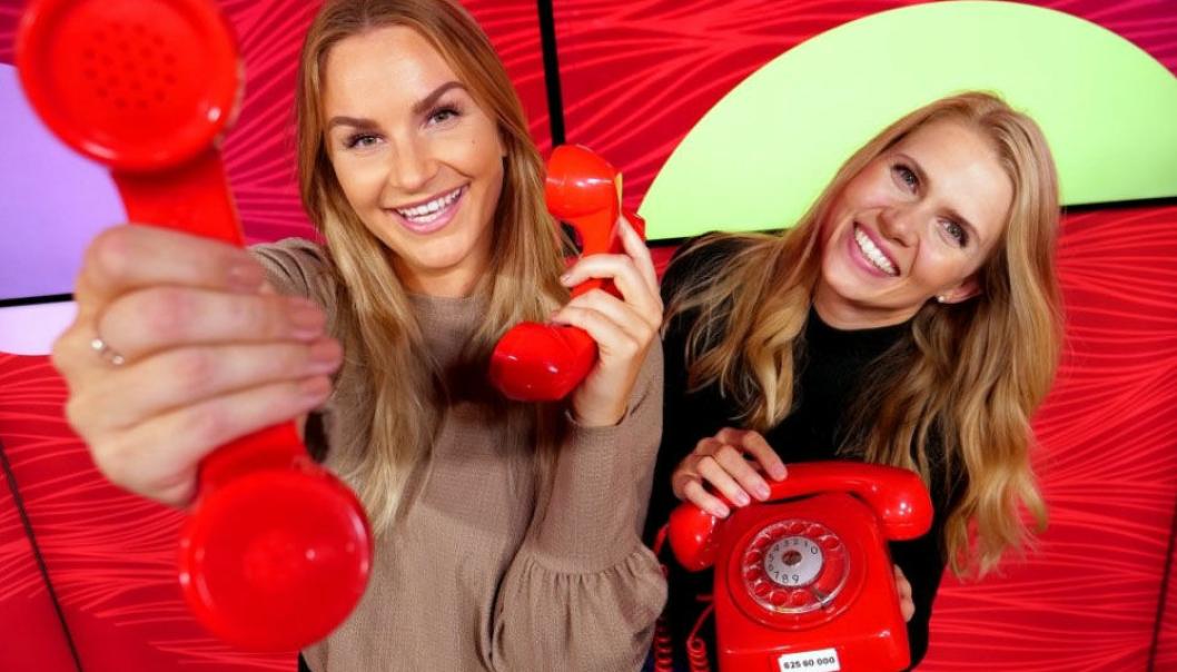 RING-RING: Hver uke ringer Norsk Tipping på Hamar i gjennomsnitt til tre nordmenn. Denne gangen var det en mann fra Oppegård som fikk telefonen.