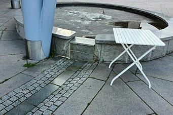 – Hele fontenen er foreslått fjernet