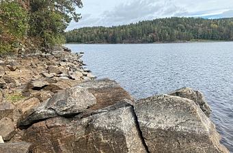 – Vannivået er nesten en meter under fylling