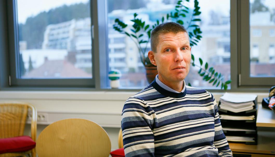 LEDER ARBEIDET: Rene Gjøg er områdeleder for psykisk helse i Nordre Follo kommune.